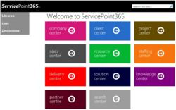 ServicePoint365 &quot;Centers&quot;